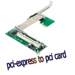 Card แปลง pci-express to pci adapter