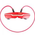 ZONOKI ZONOKI B97 หูฟังบลูทูธ bluetooth stereo headset แบตเตอรี่ในตัว รับโทรศัพท์ได้ -red