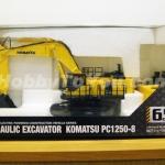 โมเดลรถก่อสร้างบังคับวิทยุ KOMATSU Excavator PC1250-8 HG 1:50 By Kyosho
