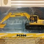 โมเดลรถก่อสร้าง Komatsu PC200 สเกล 1:50