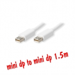 สายแปลง mini display port to mini display port 1.5m -white
