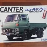 โมเดลประกอบ Mitsubishi Canter (T200 system) 1:32 by Fujimi