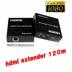 ตัวแปลงสัญญาณ hdmi full hd 120m Extender TCP/IP CAT 5E/6 With IR