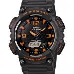 Casio SOLAR POWERED ระบบพลังงานแสงอาทิตย์ ของแท้ ประกันศูนย์ AQ-S810W-8AV CASIO นาฬิกา ราคาถูก ไม่เกิน สามพัน
