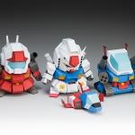 แจกฟรี!! แบบ SD Gundam Papercraft 5cm
