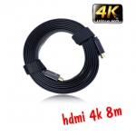 Linoya สายแบน hdmi V2.0 FULL HD 3D 2160P ยาว8m แบบดี