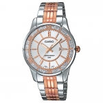 นาฬิกาข้อมือผู้หญิงCasioของแท้ LTP-1358RG-7AVDF