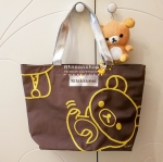 กระเป๋าสะพายไหล่ Rilakkuma (สีน้ำตาลเข้ม)