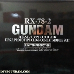 PG 1/60 RX-78-2 GUNDAM OKAWARA COLOR VER.