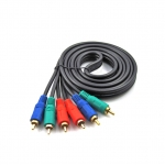 Component rca 3-3 video cable male to male 3m