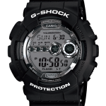 GShock G-Shock GD-100BW-1 BLACK&WHITE