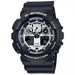 GShock G-Shock GA-100BW-1A BLACK&WHITE จีช็อค นาฬิกา ราคาถูก ราคาไม่เกิน ห้าพัน