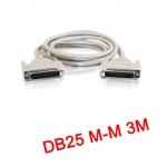 สายParallel Cable DB25 Male to Male 3m