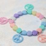 กำไลข้อมือ Pastel Handmade Bracelet BL25016