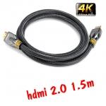 Linoya 24k สายhdmi cable V1.4 FULL HD 3D 2160P ยาว1.5m