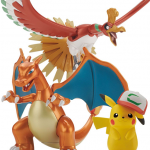 เปิดจอง [Jul'17] Pokémon PLAMO COLLECTION HOUOU & LIZARDON & SATOSHI'S PIKACHU SET