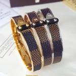 พร้อมส่ง Louis Vuitton Bracelet กำไลหลุยวิกตอง เพชรงาน stainless steel แท้สวยมากกกกก