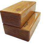 (พรีออเดอร์) บล็อคโยคะ ไม้ YK9007P (Box yoga)