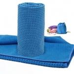 (พรีออเดอร์) ผ้าโยคะ ปุ่มกันลื่น PVC ลายจุด ไซต์S+กระเป๋าผ้า