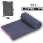 (พร้อมส่ง) ผ้ารองโยคะ TPE ซับน้ำได้เยอะสุดๆ+ถุงผ้า