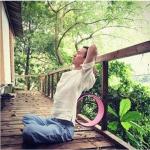 (พรีออเดอร์) Yoga Wheel วงล้อ สำหรับ โยคะ YK9019P (32*15cm)