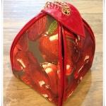 """กระเป๋า """"Marihorn"""" พิมพ์ลายแอปเปิ้ลสุดน่าร๊ากกก สีเดียวตามช้อปเลยจร้า หิ้วก็ได้ สะพายก็สวย"""