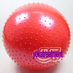 (พร้อมส่ง) YK1005 บอลโยคะ แบบหนาม ขนาด 75/65CM