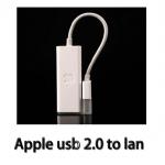 สายแปลงadapter Apple usb 2.0 to Etherent lan RJ45