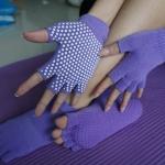 (พรีออเดอร์) ถุงมือ ถุงเท้าโยคะ กันลื่น YKSM50-3