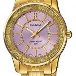 นาฬิกาข้อมือผู้หญิงCasioของแท้ LTP-1358G-6AVDF