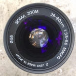 SIGMA ZOOM 28-80MM. F3.5-5.6 MACRO SONY A MOUNT