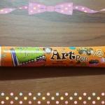pen choc สีส้ม