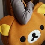 กระเป๋าหมีพักผ่อนRilakkuma (รุ่นขนเรียบ)