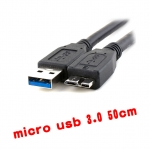 micro usb 3.0 cable for harddisk 50cm สายใหญ่