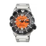 Seiko Monster Automatic รุ่น SRP315K2 นาฬิกาข้อมือผู้ชาย สีดำเงิน สายสแตนเลส