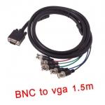สายจอ VGA to BNC 5หัว Extension Monitor cable 1.5m