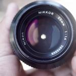 Nikon Nikkor 50mm. F1.4 non ai mount