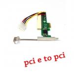 Card แปลง pci-e to pci adapter -black
