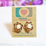 E119015 ต่างหูแฟชั่น Fashion Earrings