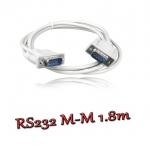 สายserial RS232 comport DB9 Male Male 1.5m -white