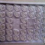 พิมพ์วุ้น ช็อคโกแลต ลายใบไม้ 38 ช่อง