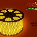 ไฟสายยาง SMD 5050 (50 m.) สีเหลือง (ท่อแบน)
