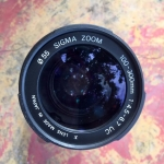 SIGMA ZOOM 100-300MM. F4.5-6.7UC SONY A MOUNT