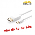mini displayport to displayport V1.2 1.5mใช้สลับกันได้ แบบดี