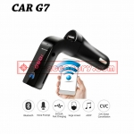 CAR G7 อุปกรณ์รับสัญญาณบลูทูธในรถยนต์ Bluetooth FM Transmitter MP3 Music Player SD USB Charger for Smart Phone & Tablet