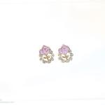 E59047 The Purple Flowers ต่างหูแฟชั่นราคาถูก