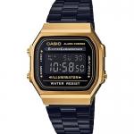 นาฬิกาข้อมือผู้หญิงCasioของแท้ A-168WEGB-1BDF