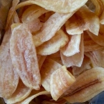 กล้วยหักมุก อบเกลือ (เค็มน้อย) 230g.