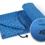 (พรีออเดอร์) ผ้ารองโยคะ (Skidless Yoga Towel) ปุ่มซิลิโคน 2 ด้าน ไซต์S