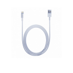 WOPOW usb Iphone 5 Lightning USB data & charging ios7/8 ไม่ขึ้นแจ้งเตือน 1m -white